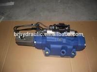 Excavator hydraulic control valve, electro valve 3 way, oil valves excavator
