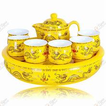 Dragon-Y-3 dragon tea set with low price guess handbag