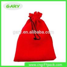 Velvet String Bags/decorative Wine Bag/wholesale Shoe Bags