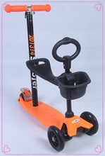 cheap 3 in 1 O-bar mini kick scooter for kids