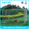 large outdoor chain link box most popular puppy dogs training