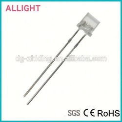 High quality ultra bright red led 5mm flat top