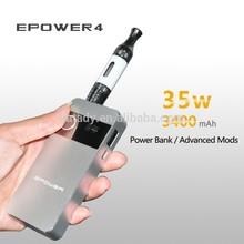 Top selling variable wattage 35watt 3400 mah sex epower4 long time lasting