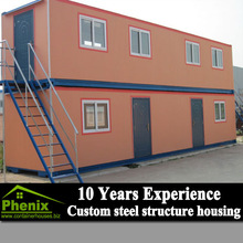 easy installation eco-friendly modern cheap living 20ft container house
