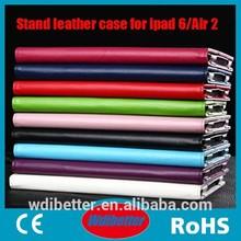 2014 Lichi Pattern Tablet Folder Case Envelope Leather Case For Ipad 6