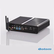 dual core i7 mini pc, 2GB RAM, 32GB SSD QOTOM T4500U windows xp / windows 7 / 8