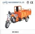 De alta calidad de tres ruedas de gasolina/gasolina triciclo de carga