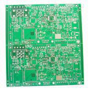 usb flash drive pcb boards 4-layer Memory PCB with 1.6mm Thickness