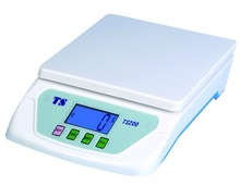kitchen scale Auto zero resetting/power off digital weighing scale Large LCD and excellent load cell