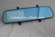 Full HD Car DVR Mirror Dual Cameras Seamless Recording Parking Sensor