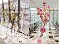 al aire libre decoraciones de la boda de la boda la última etapa de la decoración