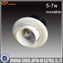 spot led recessed ceiling creeLED 2.5inch 7w 360 degree gimbal downlights