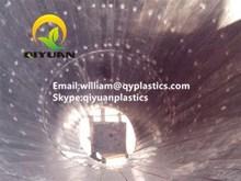 Flame retardant HDPE coal bin liner/ self-lubricating UHMWPE chute liner