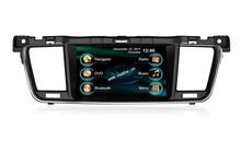 In-dash Car stereo radio/dvd/gps/mp3/3g multimedia system for Peugeot 508