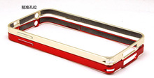 Ultra Thin Luxury bumper metal case for huawei ascend p6