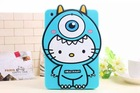 Cartoon Sulley Kitty Silicone Tablet Cover Case For Apple iPad mini 1/2/3, For ipad 234, For ipad air 1/2 From Alibaba China