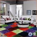 2014 fantastico design mosaico di colore puzzle tappeto indoor