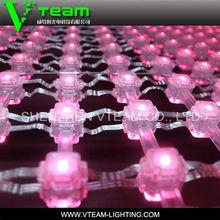 VTEAM led curtain flexible/screen led flexible/led flexible light for rental
