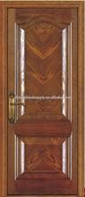 2014 HOT sale European style wooden door exterior /interior mahogany solid wooden door