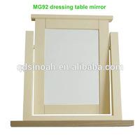 Wood bedroom furniture set solid oak Dressing table mirror(MG92)