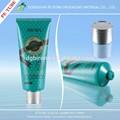 Máscara facial de cosméticos tipo y la impresión en Offset de dirección superficial de plástico tubo cosmético