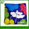 Fashionable printed polyester throw pillow