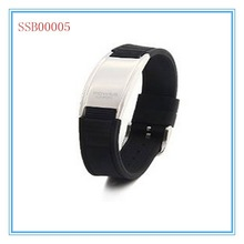 fashion beauty cool top sales bio magnetic leather bracelet jewelry