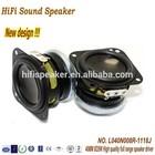 High quality 40MM 8OHM 5W speaker for media system