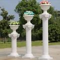 decoración de la boda blanco romana pilar para la venta