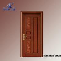 modern diy plywood kitchen cabinet/wood plastic composite door