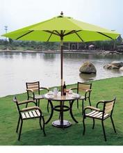 Aluminium And Mesh Cloth Outdoor Furniture Outdoor Umbrella Yard Parasol Garden Sun Umbrella Parasol Anti UV Rays And Sunshine