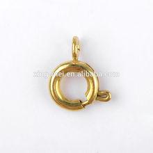 Diameter 7 mm brass spring ring jewelry findings