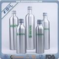 nomes de álcool garrafas de alumínio para garrafa de álcool