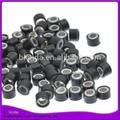 Cheveux perles pour tresses perles de silicone souple