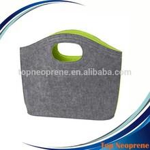 Custom Design Felt Hobo Tote Bag Women Shopping Hand Bags