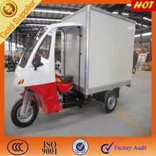 Three wheel motor trike cargo for closed cabin