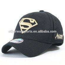 super man fitted baseball caps sports hats golf caps sports cap