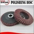 hotshine marca não tecido disco de polimento com o pano abrasivo para o aço inoxidável tratamento de superfície