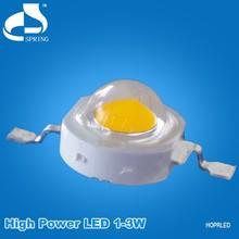 HOT!!! super bright high power 1 watt white led