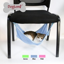 Summer Choice Under Chair Breathable Air Mesh Pet Cage Hammock Cat Bed Hammock