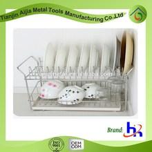 power-coating iron kitchen cabinet dish racks