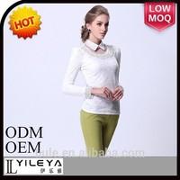 Durable 2014 office uniform designs for women blouse