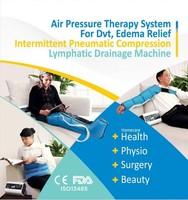 Pneumatic compression device fat & weight loss body massage vibrator machine air compression leg massager