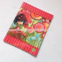 school stationery supply pretty fashion chinese supplier children sew binding notebook