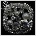 Square Rhinestone button jewelry for dess