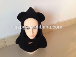 Newborn Crochet knitted Baby Girl Hat neck warmer
