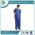 hospital descartáveis roupa 2 pedaço vestido de paciente