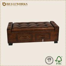 Decorative storage trunk,wooden vinatge trunk,handmade wooden chest