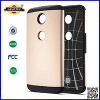for HTC Nexus 6 Slim Tough Armor Hard Case