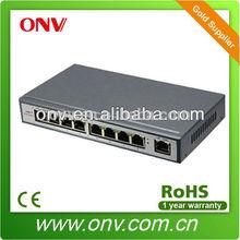 1.6G Bandwidth PoE Switch 150m Transmission Ditance 60% Energy Save